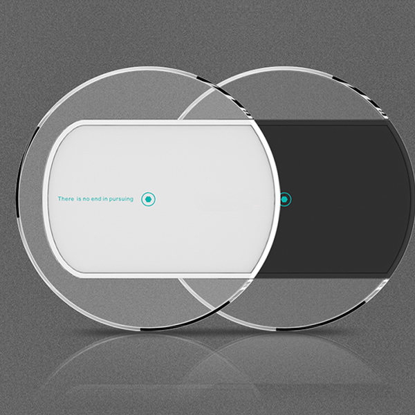 Wl017 Acrylic Tranparent Table Wireless Charger Table