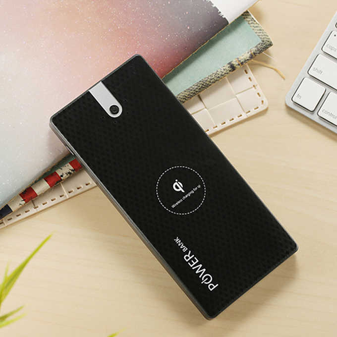 WLP007 8000mah Dual output wireless power bank