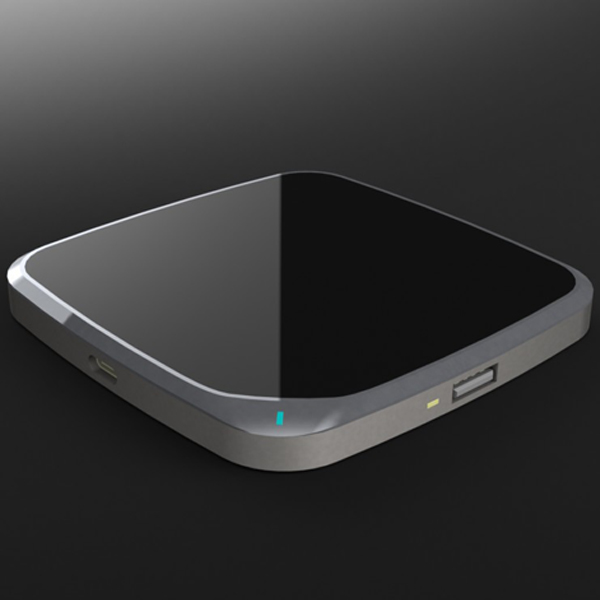 WL062 Type-C input fast  table  wireless charger