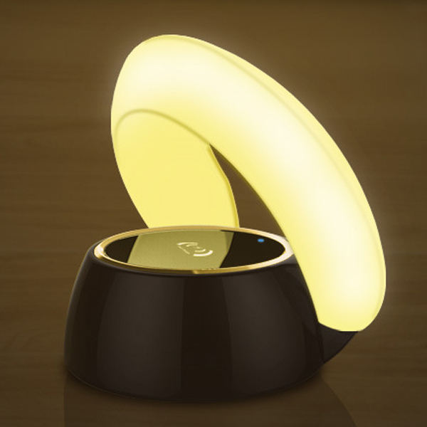 LED desk lamp compatible with 10W/5W Night light 10W Fast Wireless charger