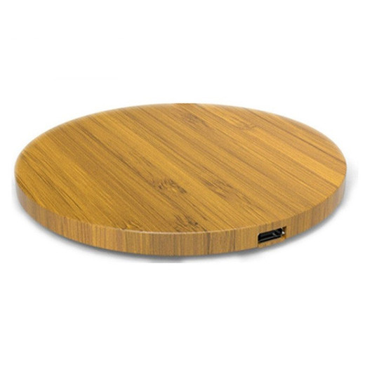 WL010 Wood round environmental wireless charger