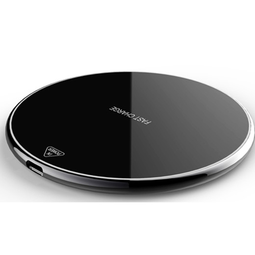 WL061 Zinc+Acrylic table fast wireless charger