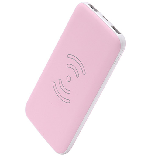 WLP013 8000mah Dual output ,type-C input wireless power bank