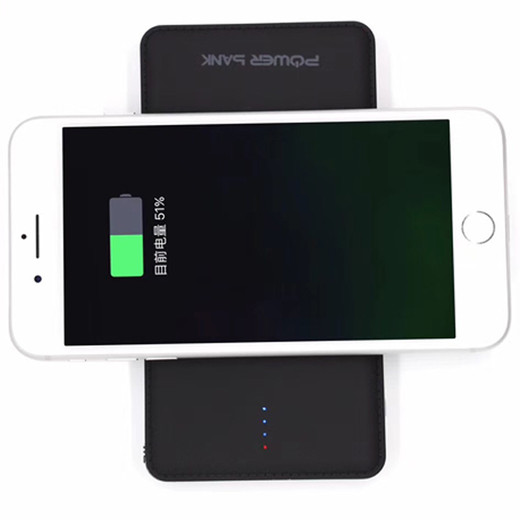 WLP011  10000mah with iPhone lighting  Android and Type-C  wireless power bank